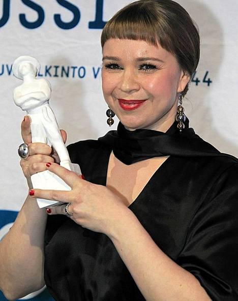 Katja Küttner sai parhaan naispääosan Jussin Prinsessasta.