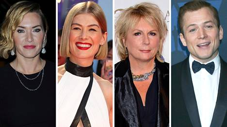 Kate Winslet, Rosamund Pike, Jennifer Saunders ja Taron Egerton ovat Muumilaakso-sarjan englanninkielisen version ääninäyttelijöitä.