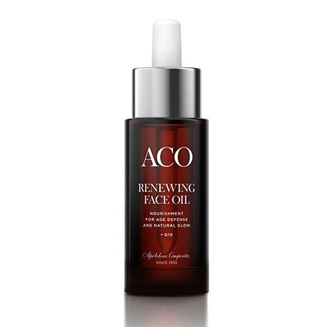 Aco Renewing Face Oil, 19,90 € / 30 ml, apteekeista.