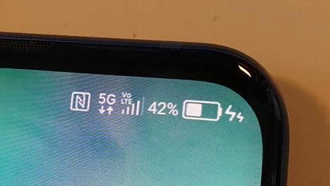 5g-puhelimet syövät akkua reilusti 4g:tä enemmän.