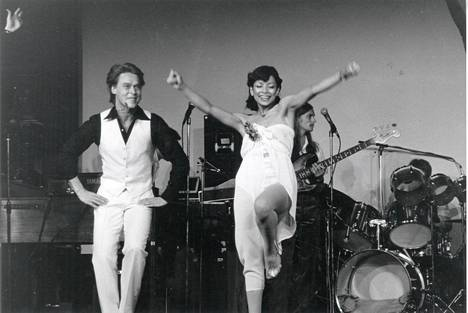 Markku Aro ja Nisa Soraya vuonna 1980.