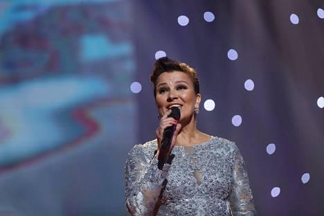 Arja Koriseva on tehnyt yli 30-vuotisen uran laulajana.