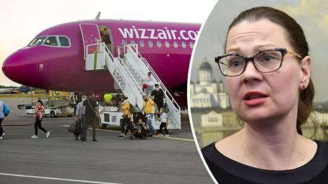 Turun kaupunginjohtaja Minna Arve kertoo keskustelujen Wizz Airin kanssa sujuneen hyvässä hengessä.