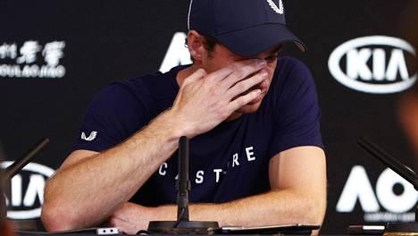 Andy Murrayn ura päättyy kaiken todennäköisyyden mukaan tänä vuonna.