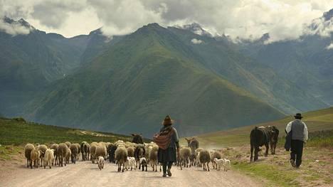 Andien vuoristo reunustaa Pyhää Laaksoa – Valle Sagradoa – jonka kautta kuljetaan Machu Picchulle. Laaksossa on upeita maisemia, intiaanikyliä ja inkojen aikaisia arkeologisia alueita.