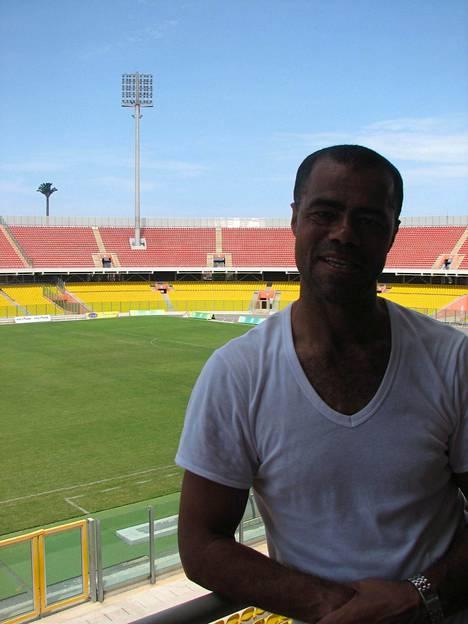 Steven Polack Accran kansallisstadionilla 2010.