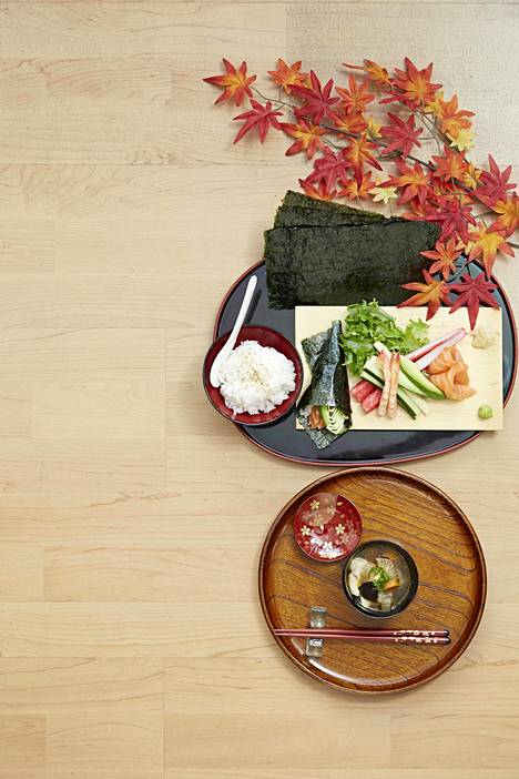 Sushi Wagocoron tarjontaa.