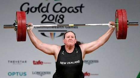 Laurel Hubbard tekee historiaa Tokion olympialaisissa.