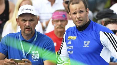 Hannu Kangas on torstaina Lontoossa seuraamassa Tero Pitkämäen heittoja MM-karsinnassa.