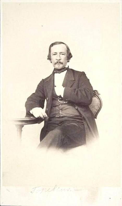 Zacharias Topelius 1860.