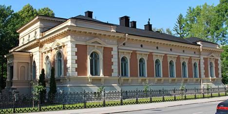 Arkkipiispan Turun virka-asunto valmistui 1887.