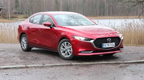 Mazda3 sijoittui kolmanneksi Vuoden Auto Suomessa 2020 -äänestyksessä.