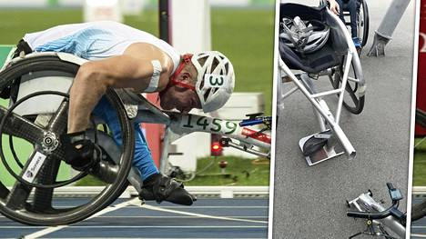 Leo-Pekka Tähden kilpailu Sveitsissä päättyi hurjalla tavalla.