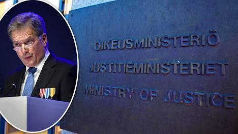 Presidentti Sauli Niinistö kuvattiin kansallisen veteraanipäivän valtakunnallisessa pääjuhlassa Lahdessa torstaina 27. huhtikuuta 2017.