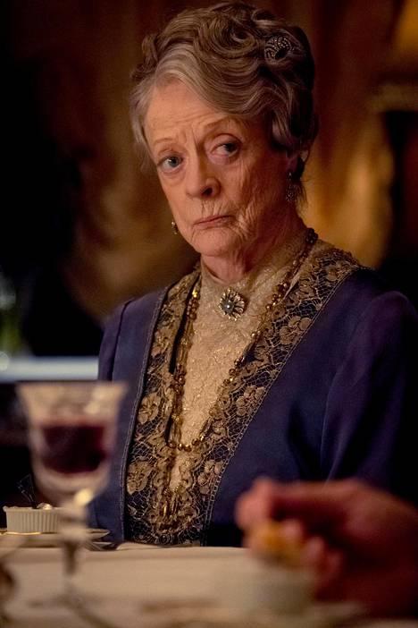 Granthamin leskikreivitär Violet Crawleyn roolin tekee Maggie Smith.