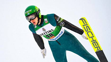 Ilkka Herola onnistui Lillehammerin mäessä.