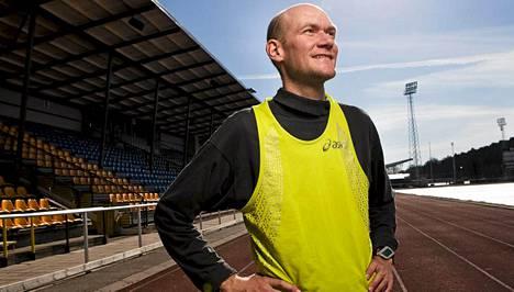 Janne Holmenin vauhti on pysynyt hyvänä.