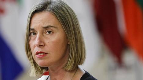 Entinen EU-ulkoministeri Federica Mogherini vieraili suomalaisessa podcastissa.