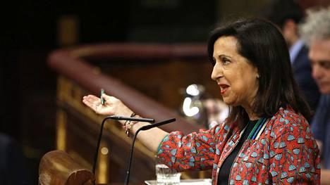 Margarita Robles on Espanjan uusi puolustusministeri.