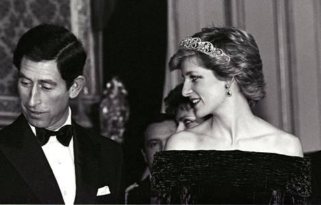 Charles ja Diana kuvattuna vuonna 1986.