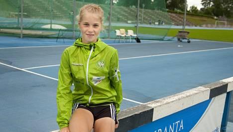 Alisa Vainio on 10000 metrillä ikäluokkansa maailman kärkeä.