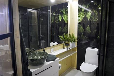 Veljesteco-talon wc-tila.