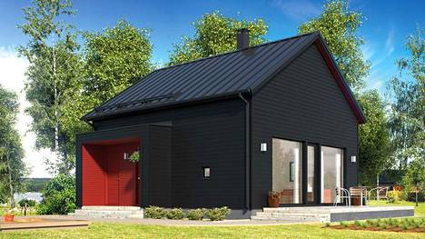 Kastellin Cubic-malliston pienin ok-talo on 49 neliön kokoinen.