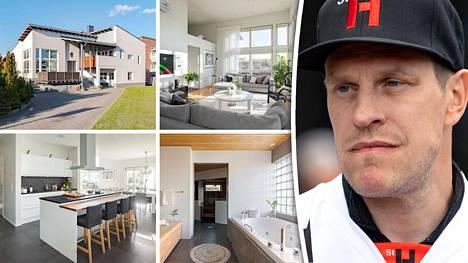 Ville Niemisen perheen talo Tampereella on myynnissä.
