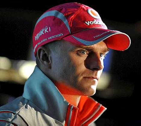 Kauden päätyttyä Heikki Kovalaisella on aikaa ottaa rennosti.