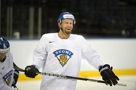 Jere Karalahti vuonna 2014 jääkiekon MM-kisoissa Minskissä.