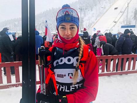 Anna Zherebjatjeva kuvattuna vuonna 2019.