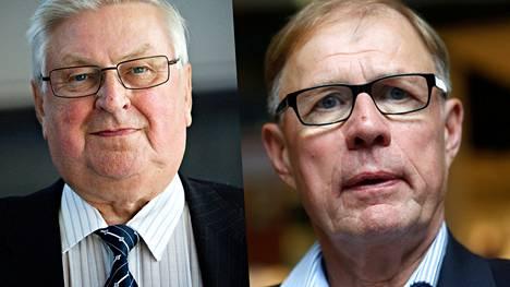 PS:n Pentti Kettunen ja kokoomuksen Pekka Ravi jäivät rannalle.