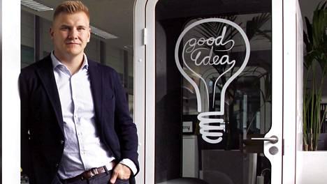 Samu Valtteri Hällfors on rikastunut yrityskaupoilla.