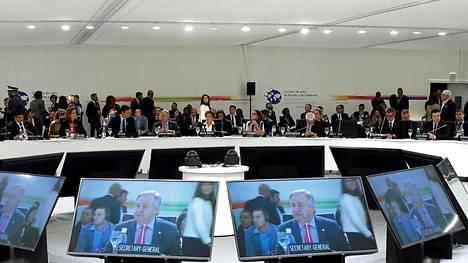 YK:n ilmastokokous alkoi Madridissa.