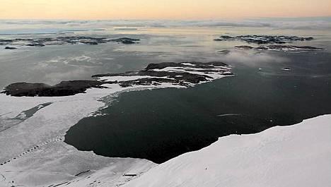 Merenkäynti on kovaa Etelämantereen lähellä.