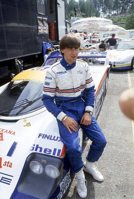 Henri Toivonen ja Porsche 956 olivat Vauhtiajojen vetonaula 1984.