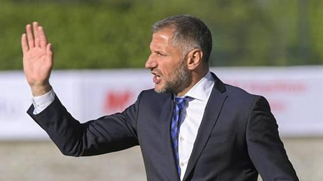 Shefki Kuqin valmentamassa Interissä kuohuu.
