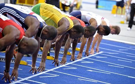 Usain Bolt ei ole kokonsa takia nopeimpia lähtijöitä.