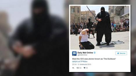 Syyrian armeijan kerrotaan napanneen jättimäisen Isis-teloittajan.