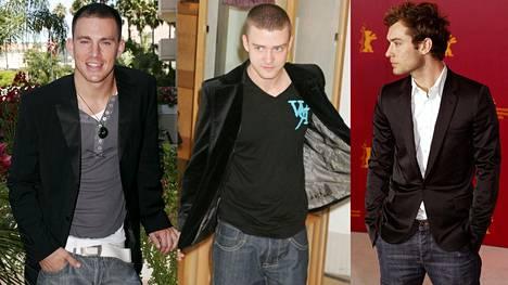 Muun muassa näyttelijä Channing Tatum, laulaja Justin Timberlake ja näyttelijä Jude Law edustivat aikanaan 2000-luvun farkkutrendeissä.