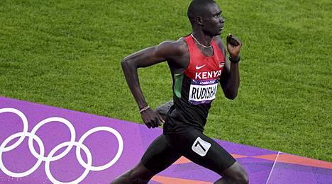 David Rudisha paransi 800 metrin ME:tä soolojuoksulla.
