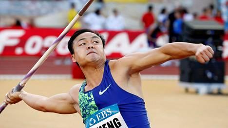 Chao-Tsun Cheng alkaa olla huippukunnossa ennen Dohan MM-kisoja.