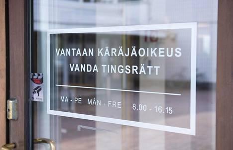 Vantaan käräjäoikeus antoi asiassa tuomionsa torstaina 25. elokuuta.