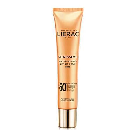 Lierac Sunissime Anti-age SPF 50+ Protective BB Fluid sävyllinen aurinkovoide kasvoille, 35,60 €, apteekeista.