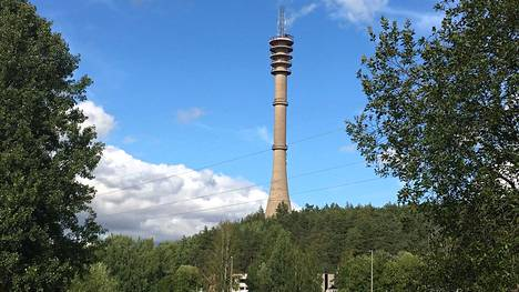 Pääskyvuoren torni rakennettiin 60-luvulla.