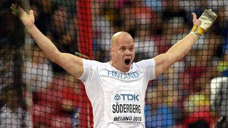 David Söderberg onnistui Turussa.