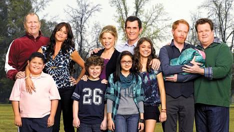 Moderni perhe -sarjan tähdet vuonna 2010.