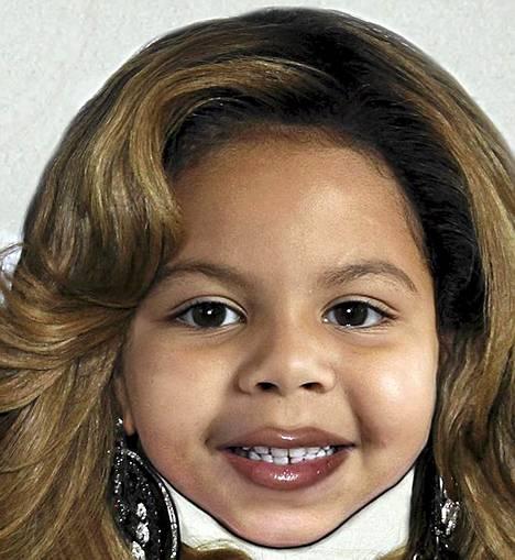 Tältä puolestaan voisi näyttää Beyoncen ja Jay-Z:n tytär.