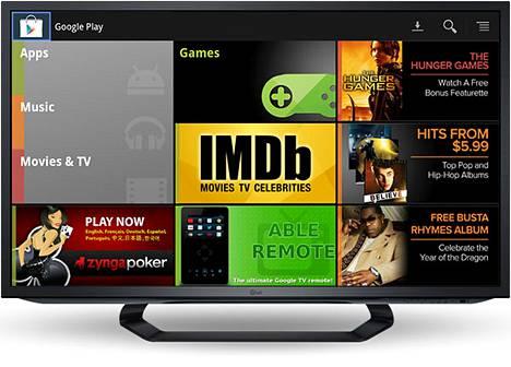 Google Play Google TV:ssä. Täällä mainokset ovat pyhiä.