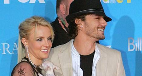 Britney ja Kevin silloin, kun kaikki oli vielä hyvin.